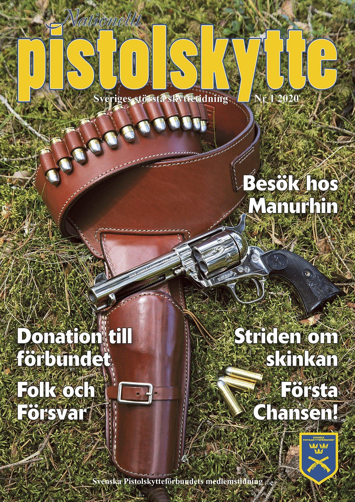 Tidning Nationellt Pistolskytte nr 1 2020